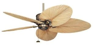 Palm ceiling fans tropical ceiling fans - Beach themed ceiling fan ...