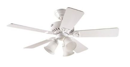 White ceiling fan the timeless classic fan for all ages white ceiling fan choosing refinement mozeypictures Gallery